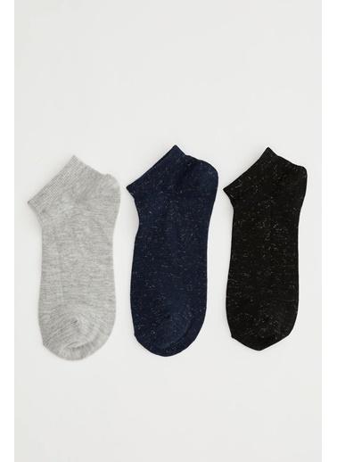 DeFacto 3'lü Çorap Set Renkli